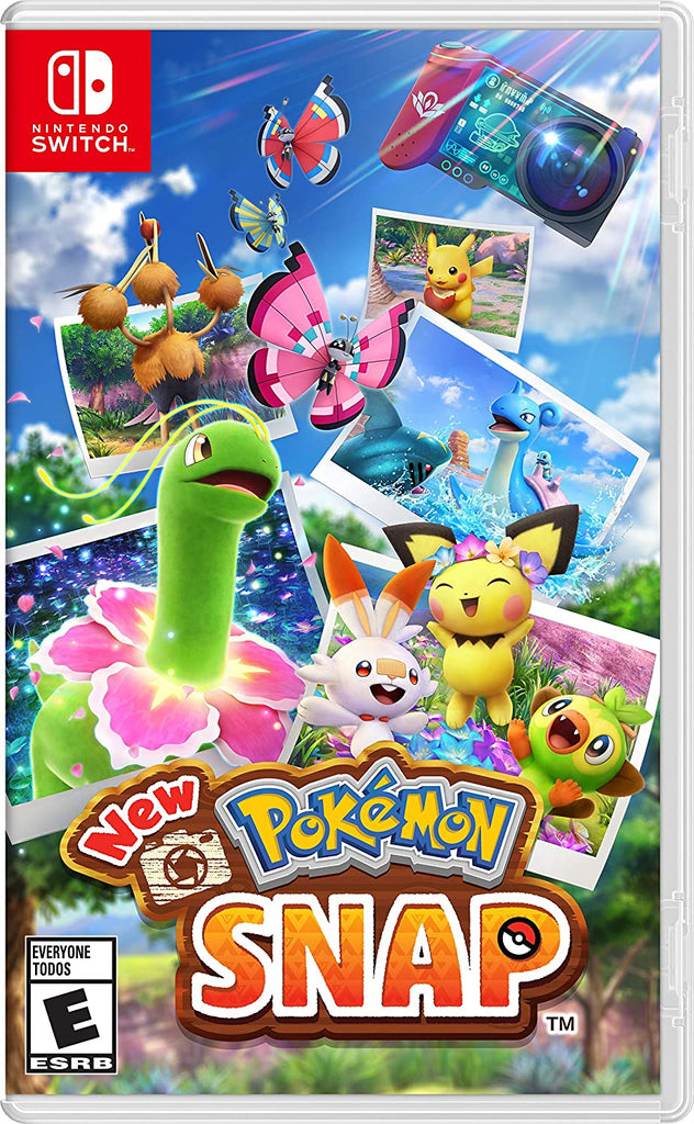 New Pokémon Snap - Nintendo Switch (PRE-ORDEN, ESTRENA 30.04.2021)