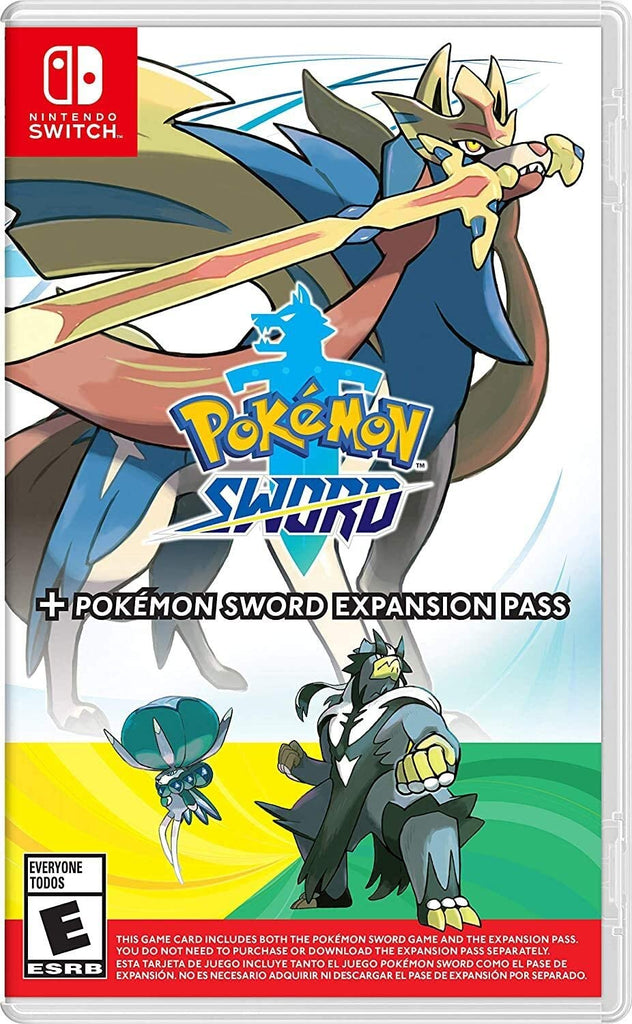 Pokémon Sword + Expansion Pack - Nintendo Switch