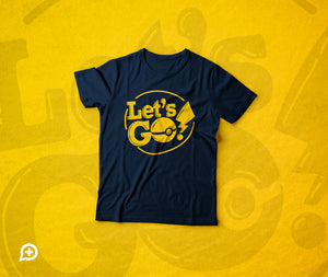 T Shirt - Pokemon: Let's Go Concept - by @AlextiloLibre