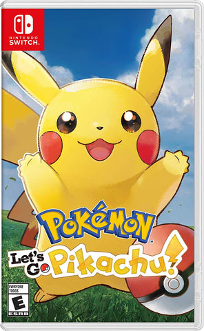 Pokemon: Let's Go, Pikachu! - Nintendo Switch (PRE ORDEN, 16.11.2018)