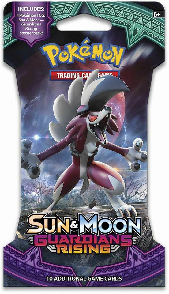 Pokemon TCG: Sun & Moon Guardians Rising - Pack of Three