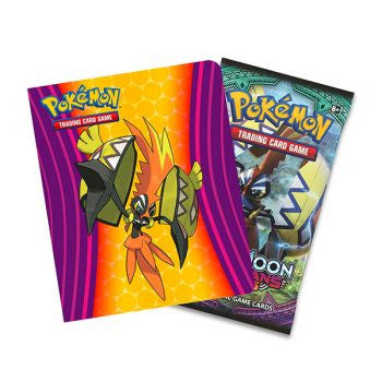 Pokemon TCG Sun & Moon Guardians Rising Collect A - Trae Album de 60 cartas