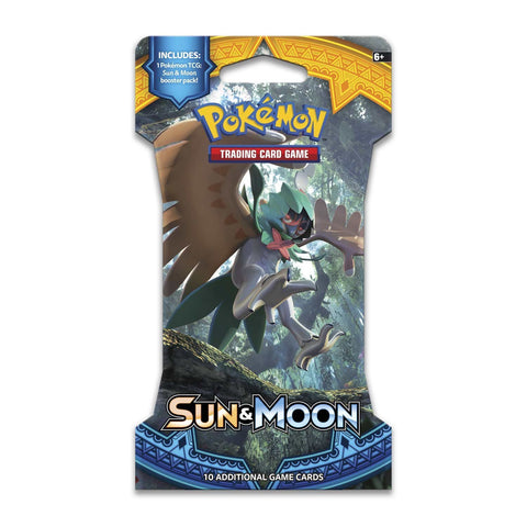 Pokemon TCG Sun & Moon Sleeved Booster Pack
