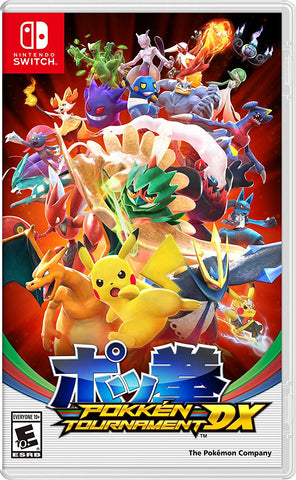 Pokkén Tournament Deluxe - Nintendo Switch (PRE ORDEN, ESTRENA 22.09.2017)