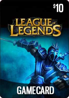 THQ - League of Legends Game Card ($10) - Riot Points 10 US [Digital Code]