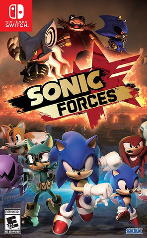 Sonic Forces - Nintendo Switch (PRE ORDEN, ESTRENA 07.11.2017)