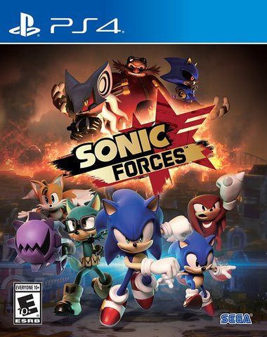 Sonic Forces - PlayStation 4 (PRE ORDEN, ESTRENA 07.11.2017)