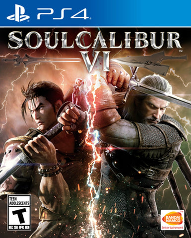 Soul Calibur VI - PlayStation 4 (PRE ORDEN, ESTRENA 19.10.2018)