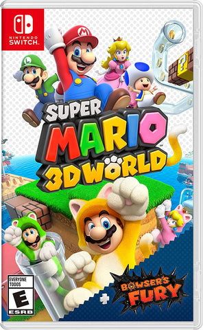 Super Mario 3D World + Bowser's Fury - Nintendo Switch (PRE-ORDEN, ESTRENA 12-2-2021)