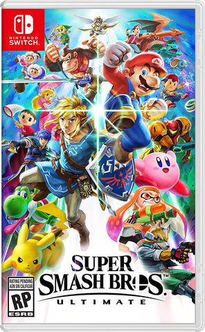 Super Smash Bros, Ultimate - Nintendo Switch (PRE ORDEN, ESTRENA 07.12.2018)