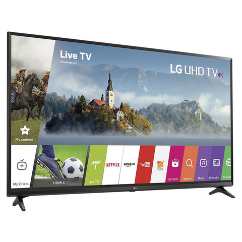 LG 49UJ6300 - 49'' UHD 4K HDR Smart LED TV (2017 Model)