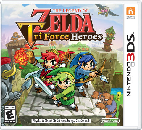 The Legend of Zelda: TriForce Heroes - Nintendo 3DS - Solo Cartucho