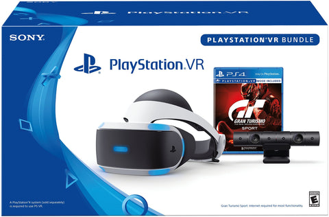PlayStation VR - GT Sport Bundle - PlayStation 4 + Tshirt + Llavero