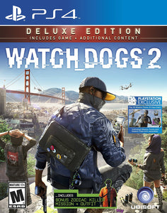 Watch Dogs 2 Deluxe Edition (Includes Extra Content) - PlayStation 4