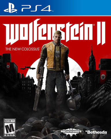 Wolfenstein: The New Colossus - PlayStation 4 (PRE ORDEN, ESTRENA 27.10.2017)