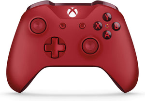 Xbox One Wireless Controller (With 3.5 millimeter headset jack) - Red