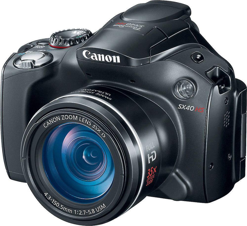 Canon SX30IS 14.1MP Digital Camera with 35x Wide Angle Optical Image Stabilized Zoom and 2.7 Inch Wide LCD - Segunda Mano