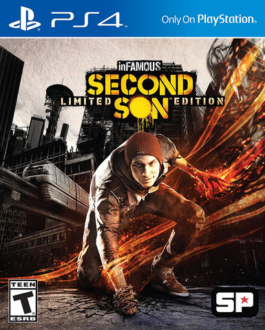 inFAMOUS Second Son - Playstation 4 - Segunda Mano