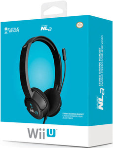 Turtle Beach Ear Force NLA Gaming Headset Black