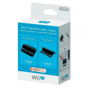 Wii U Gamepad Stand Cradle Set