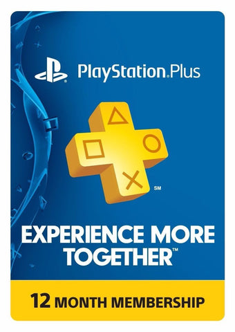 Playstation Plus 1 Año