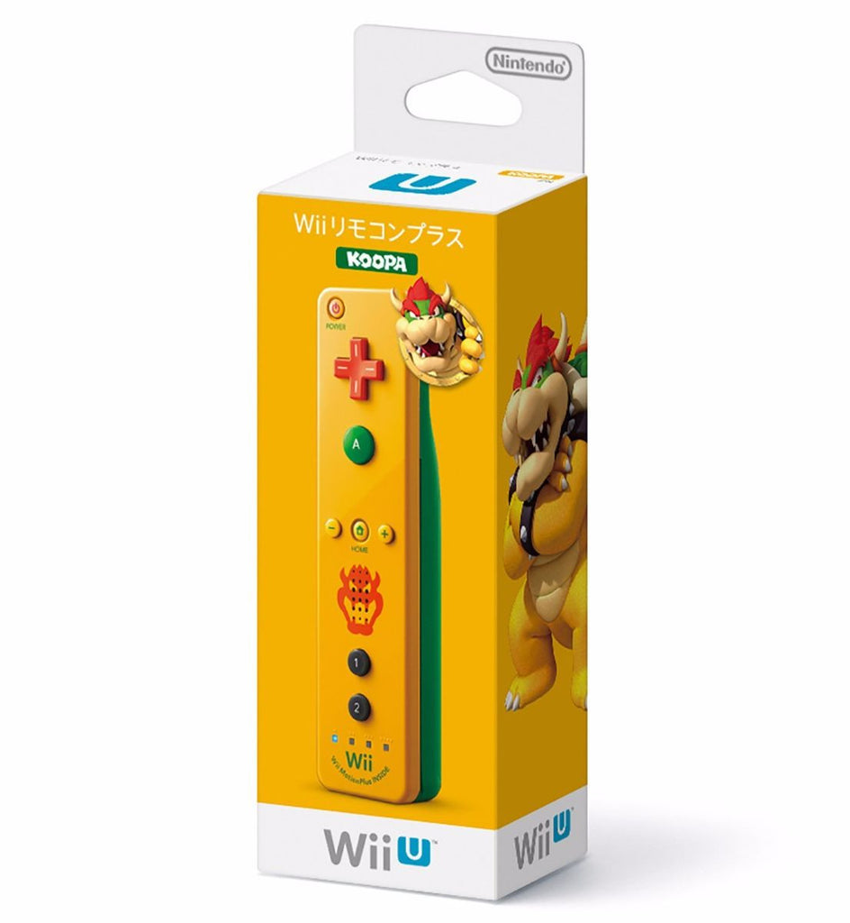 Control Wii Remote Plus Bowser - Koopa - Originales