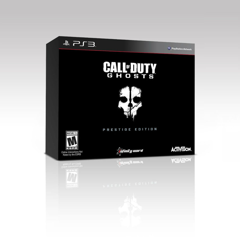 Call of Duty Ghost Prestige Edition