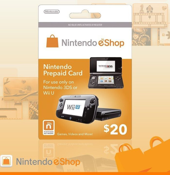 Nintendo E-shop 20US Card