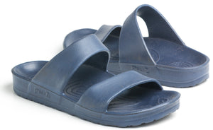 Pali Hawaii Unisex Cruz Slide Comfort Sandal - Blue - Captain Woody's Locker