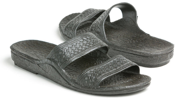 Pali Hawaii Black Jandal - Captain Woody's Locker