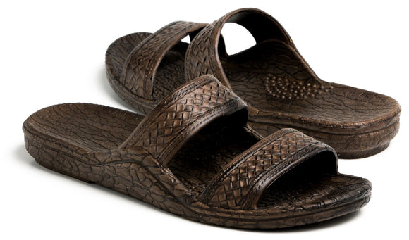 Pali Hawaii Jandal Sandals -  Dark Brown - Captain Woody's Locker