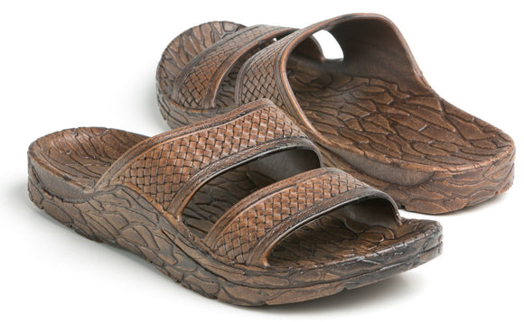 Pali Hawaii Jesus Sandal for Men  - Jon Jandal in Brown - Captain Woody's Locker