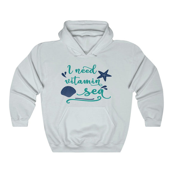 I Need Vitamin Sea - Unisex Heavy Blend™ Hooded Sweatshirt - Captain Woody's Locker