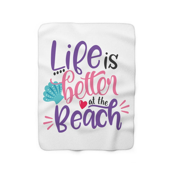 Sherpa Fleece Blanket - Captain Woody's Beach Club
