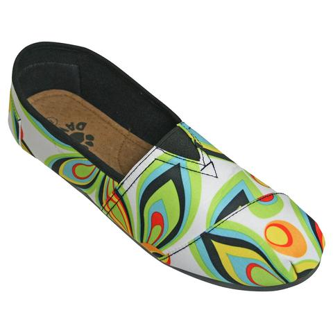 DAWGS Woman's Loudmouth Kaymann Loafers - Shagadelic White - Captain Woody's Locker