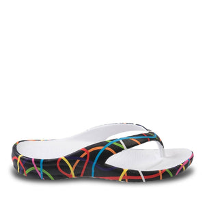 Women's Loudmouth Flip Flops - Scribblz - Captain Woody's Locker
