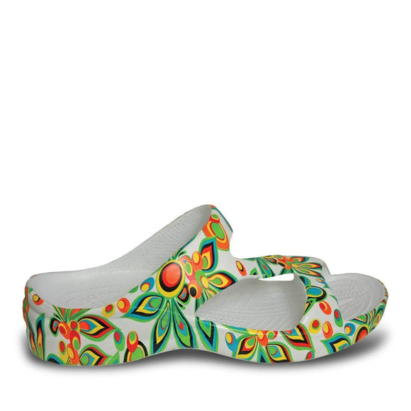 Women's Loudmouth Z Sandals - Shagadelic White - Captain Woody's Locker