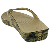 DAWGS Men's Flip Flop Sandal - Mossy Oak - Captain Woody's Beach Club