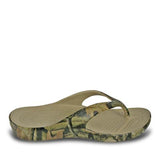 DAWGS Women's Flip Flop Sandal - Mossy Oak - Captain Woody's Locker