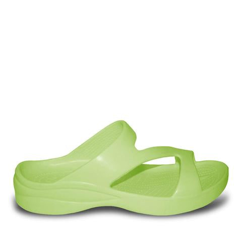 Dawgs Women's Z Sandal - Lime - Captain Woody's Locker