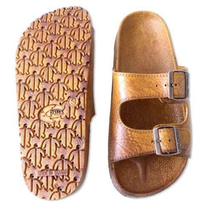 Pali Hawaii Buckle Sandal - Light Brown - Captain Woody's Locker