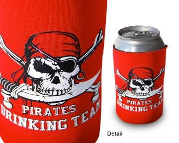 Pirate Drinking Team can and bottle Cozi - Captain Woody's Beach Club