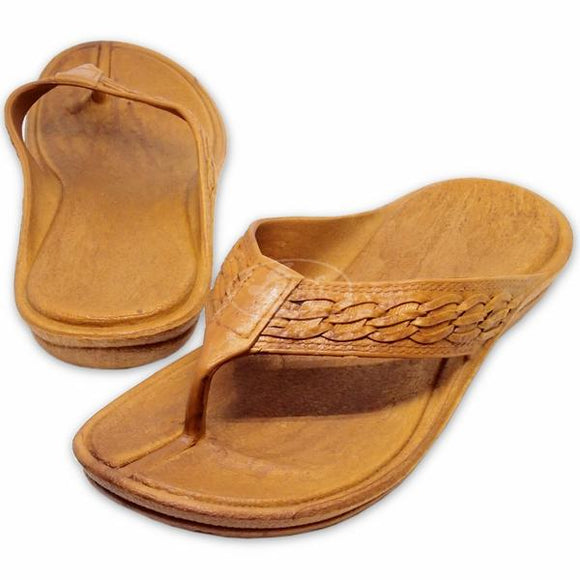 Pali Hawaii Shaka Thong - Light Brown - Captain Woody's Locker