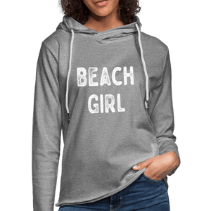 Beach GIrl Unisex Lightweight Terry Hoodie - Captain Woody's Locker
