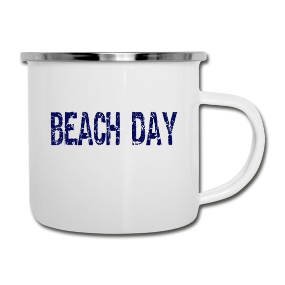 Beach Day Camper Mug - Captain Woody's Beach Club