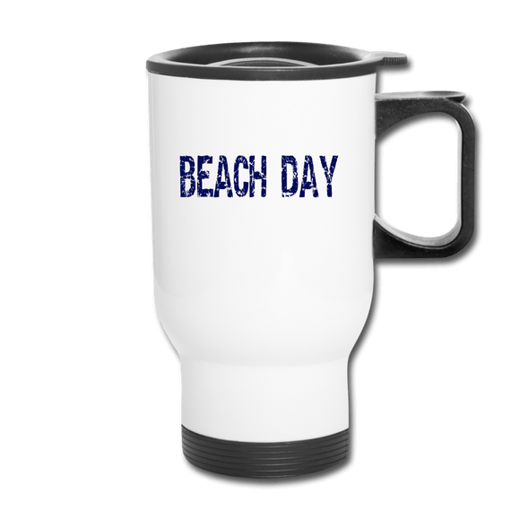 Beach Day Travel Mug - Captain Woody's Beach Club