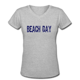 Beach Day Women's V-Neck T-Shirt - Captain Woody's Locker