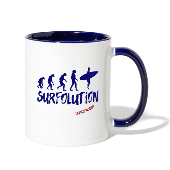 Surfolution Surfer Coffee Mug - Captain Woody's Locker