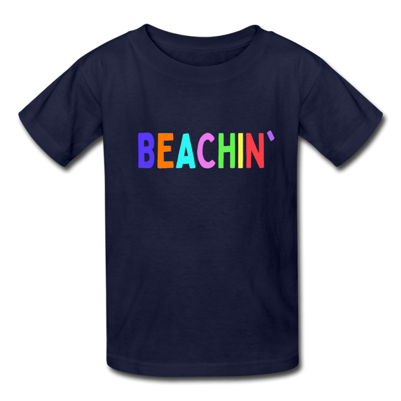 Beachin' Kids' Beach T-Shirt - Captain Woody's Locker