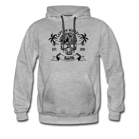 Captain Woody's Beach Club Tropical Skull Pirate Hoodie - Captain Woody's Locker